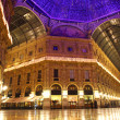 Stock Photo: GalleriVittorio Emanuele in Milan, Italy