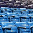 Stock Photo: Blue empty stadium seats