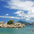 Adriatic sea, Montenegro - Stock Photo