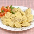 Pelmeni food — Stock Photo