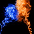 Smoke abstract — Stock Photo