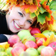 Autumn girl — Stock Photo #4408312
