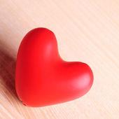 Red baloon heart — Stock Photo