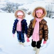 Sisters in winter — Stock Photo #4677056