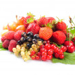 Fruits and berries — Foto Stock
