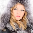 Woman in winter day — Stock Photo #5106101