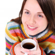 Girl with cup of tea — Stock Photo #5106138