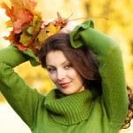Autumn girl — Stock Photo #5150541