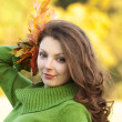 autumn girl — Stock Photo #5150569