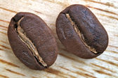 Roasted coffee beans — 图库照片
