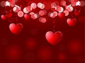 Valentines Day background. Vector illustration for design — Stock Vector
