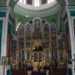 Interior of a russian orthodox cathedral — Stock Photo