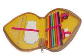 Pencil case — Stock Photo