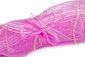 Pink grid — Stock Photo