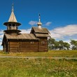 Old wooden Orthodox Church — Stock Photo