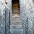 Old stony  stairs in the Roman amphitheatre — Stock Photo