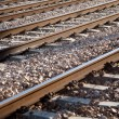 Railway background — Stock Photo