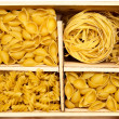 Royalty-Free Stock Photo: Set of four varieties of pasta