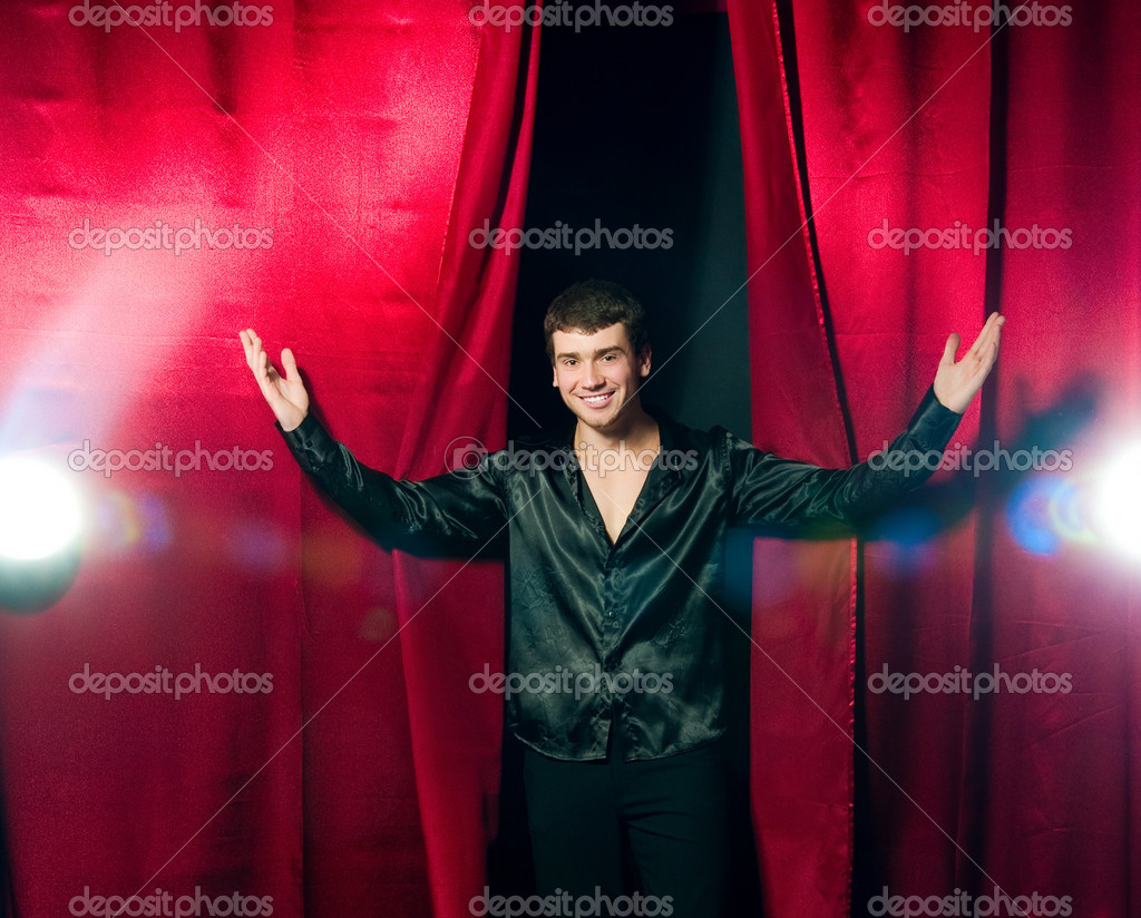 The Phantom of the Opera at the stage  Stock Photo #4394232