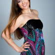 Woman with a long beautiful hair — Stock Photo #4879499