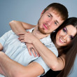 Stock Photo: Young couple