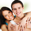 Smiling couple — Stock Photo #5231351