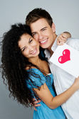 Smiling couple — Stockfoto