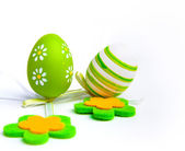 Painted Colorful Easter Egg — Stock Photo