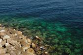 Las piedras y el mar — Foto de Stock