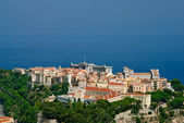 Princely palace and Oceanography museum in Monaco old town — Stock Photo
