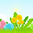 easter background — Stock Vector #5303907