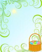 Wielkanoc ramki — Wektor stockowy