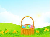 Easter background — Stockvektor