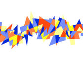 Abstract geometric pattern — Foto Stock
