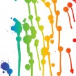 Color drops background - Stock Vector