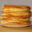 Russian pancakes - Stock Photo