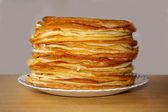 Russian pancakes — Stock Photo