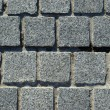 Granite block pavement background — Stock Photo