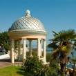 Pavilion at the seafront - Stock Photo