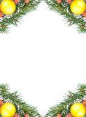 圣诞框架 — 图库照片