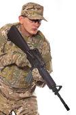 士兵用步枪 — 图库照片