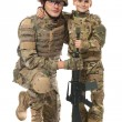 Military Father and Son — Stock Photo #4523954