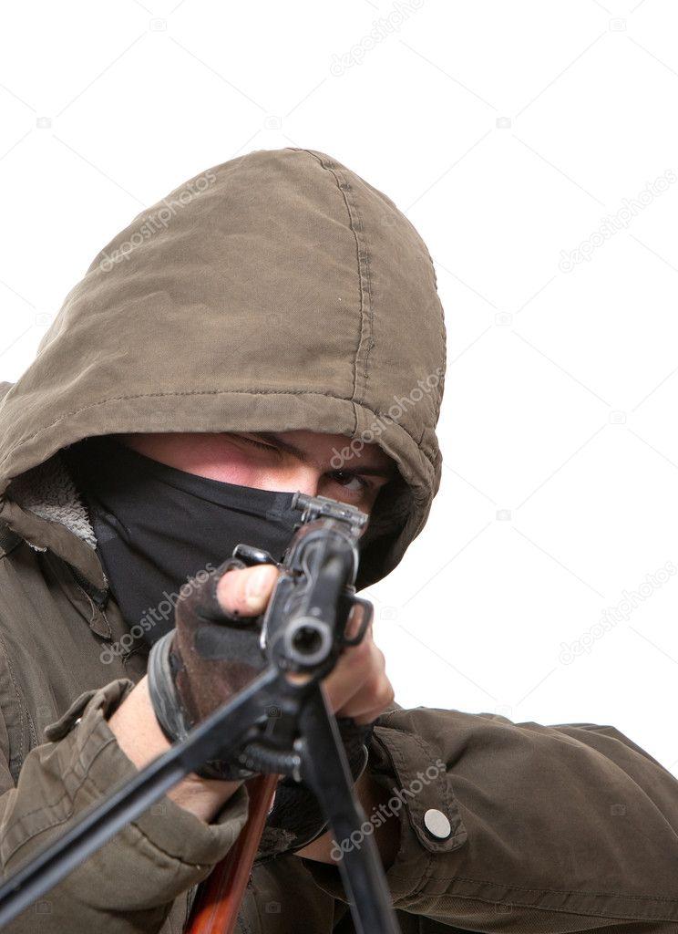 恐怖分子割女人头图片