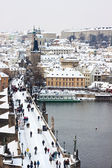 Winter in Prague — Stock Photo