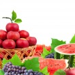 Fresh fruits and vegetables — Stock Photo #4999103