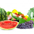 Fresh fruits and vegetables — Stock Photo #5022217