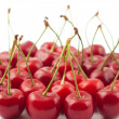 Red cherries - Stock Photo