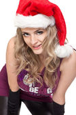 Miss Santa Claus — Stock fotografie
