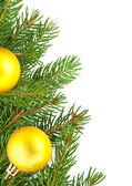 Vánoční rámec — Stock fotografie