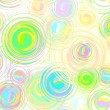 Royalty-Free Stock Vectorielle: Abstract circle seamless pattern.